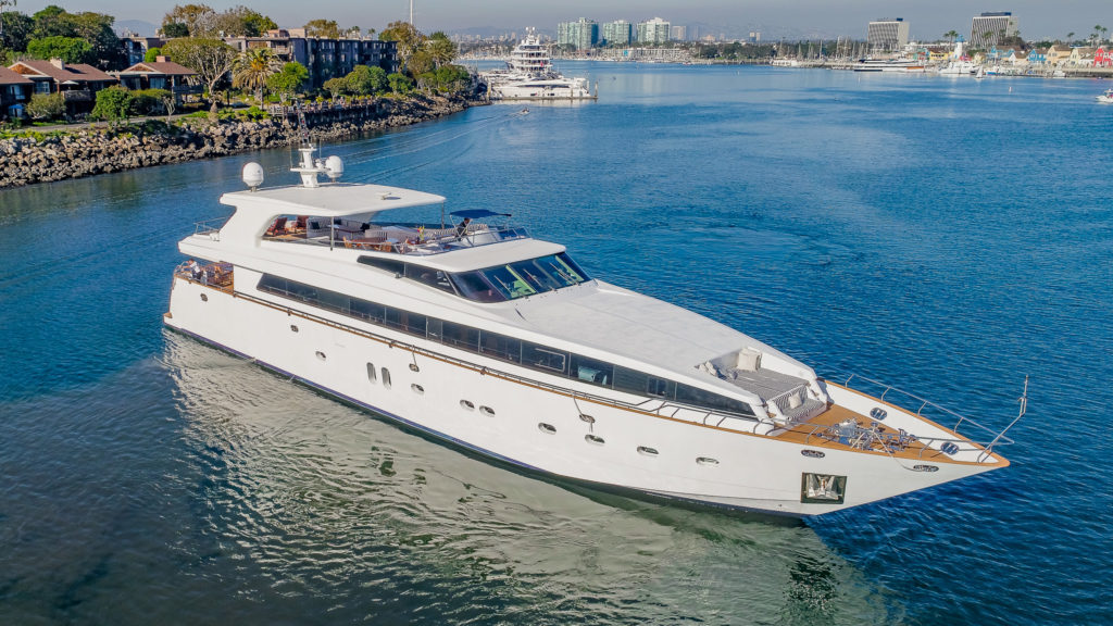 Luxury Super Yacht For Vips Marina Del Rey Los Angeles